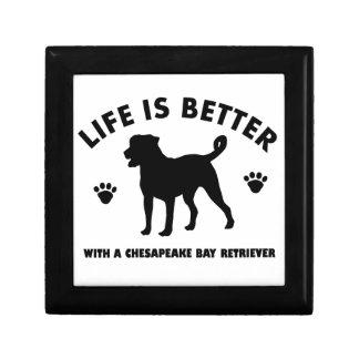 chesapeak Bay retrier dog design Gift Box
