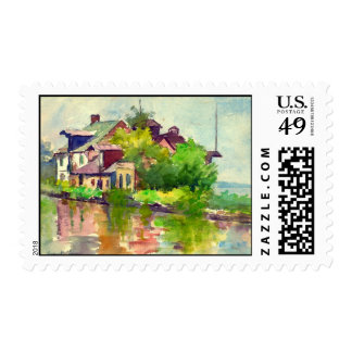 Chesapeake and Ohio Canal 1916 Postage