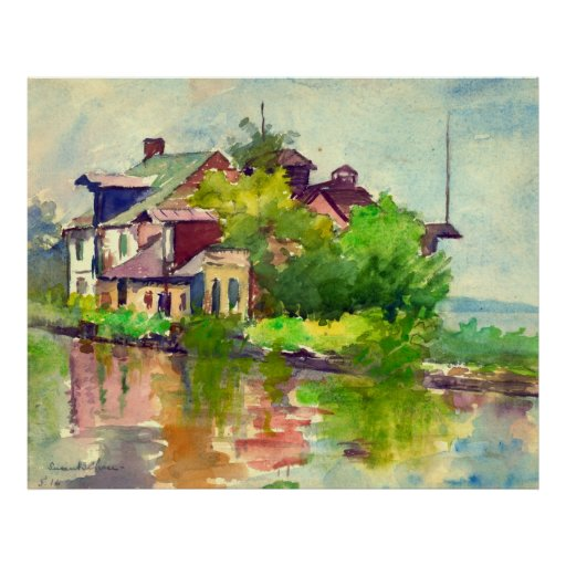Chesapeake and Ohio Canal 1916 Poster
