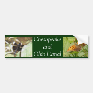 Chesapeake and Ohio Canal Bumper Stickers