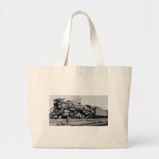 Chesapeake And Ohio Engine 2319 Large Tote Bag