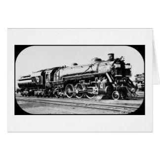 Chesapeake And Ohio Engine 464 Columbus Ohio Card