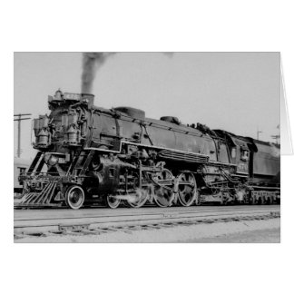 Chesapeake And Ohio Engine 470 Marion Ohio Greeting Card