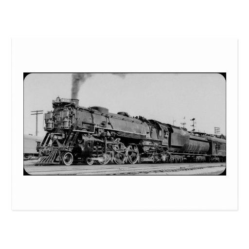 Chesapeake And Ohio Engine 470 Marion Ohio Postcard