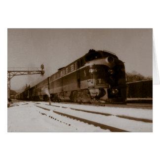 Chesapeake And Ohio Engine 4815 Card