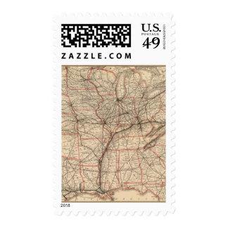 Chesapeake and Ohio Railway Stamps