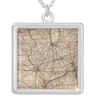 Chesapeake and Ohio Railway Silver Plated Necklace