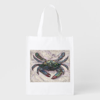 Chesapeake Bay Blue Crab Reusable Bag