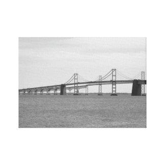 Chesapeake Bay Bridge Canvas Print