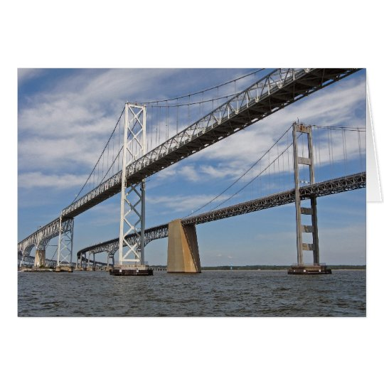 Chesapeake Bay Bridge Card