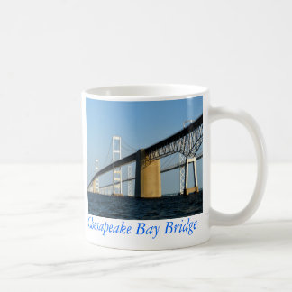 Chesapeake Bay Bridge - CUP Classic White Coffee Mug