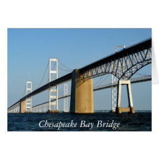 Chesapeake Bay Bridge - NOTE CARD