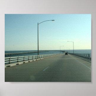 Chesapeake Bay Bridge - print/poster Poster