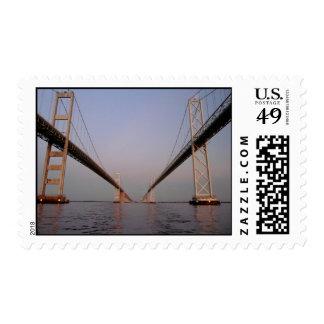Chesapeake Bay Bridge-- STAMP