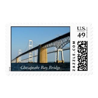 Chesapeake Bay Bridge -STAMP Postage
