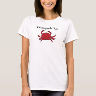 Chesapeake Bay Crab Red Cooked Hard Shell T-Shirt