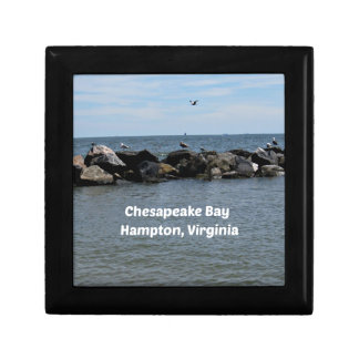 Chesapeake Bay, Hampton,Virginia Gift Box