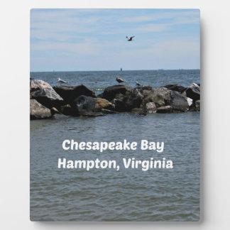Chesapeake Bay, Hampton,Virginia Plaque