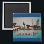 "Chesapeake Bay Magnet<br><div class=""desc"">Tangier Island Waterfront</div>"