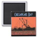 Chesapeake Bay Magnet - Customized