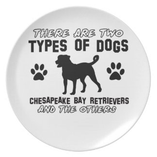 Chesapeake bay retriever animal  DESIGNS Dinner Plate