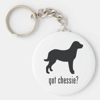 Chesapeake Bay Retriever Basic Round Button Keychain