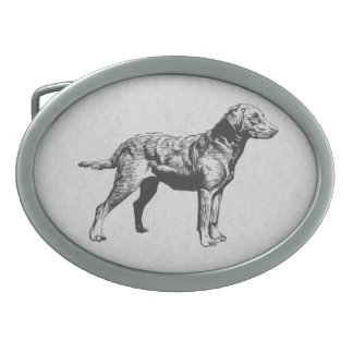 chesapeake bay retriever belt buckle