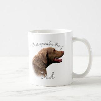 Chesapeake Bay Retriever Dad 2 Classic White Coffee Mug