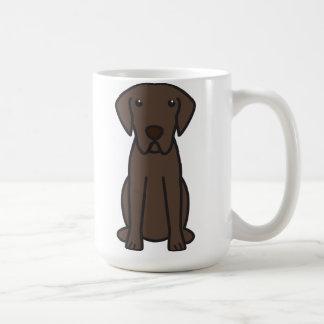 Chesapeake Bay Retriever Dog Cartoon Mugs