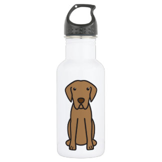 Chesapeake Bay Retriever Dog Cartoon 18oz Water Bottle