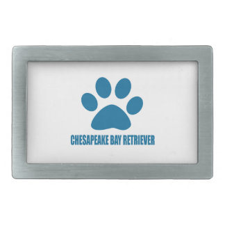 CHESAPEAKE BAY RETRIEVER DOG DESIGNS BELT BUCKLE
