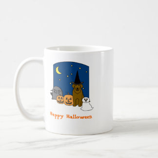 Chesapeake Bay Retriever Halloween Mug