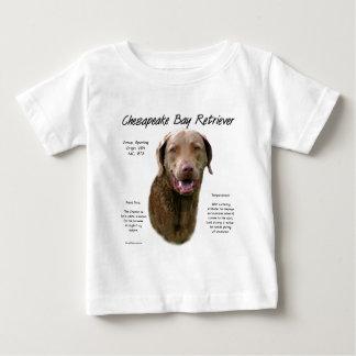 Chesapeake Bay Retriever History Design Baby T-Shirt