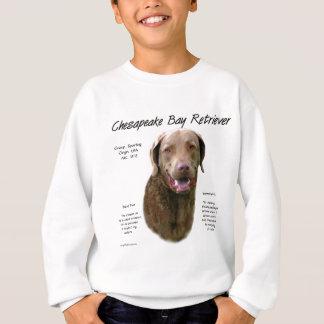 Chesapeake Bay Retriever History Design Sweatshirt