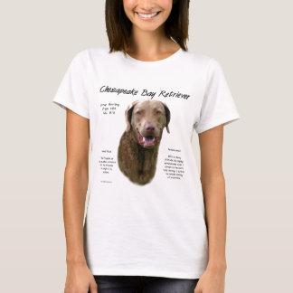Chesapeake Bay Retriever History Design T-Shirt