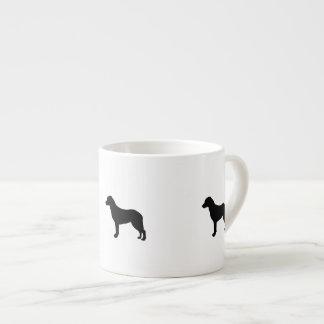 Chesapeake Bay Retriever hunting dog Silhouette Espresso Cup