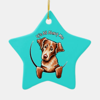 Chesapeake Bay Retriever IAAM Ceramic Ornament