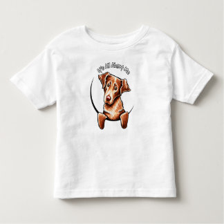 Chesapeake Bay Retriever IAAM Off-Leash Art™ Toddler T-shirt