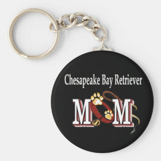 Chesapeake Bay Retriever Mom Gifts Keychain