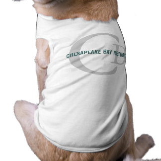Chesapeake Bay Retriever Monogram Pet Shirt