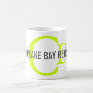 Chesapeake Bay Retriever Monogram Classic White Coffee Mug