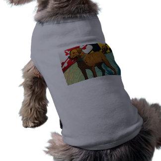 Chesapeake Bay Retriever of Maryland Chessie Dog Tee Shirt