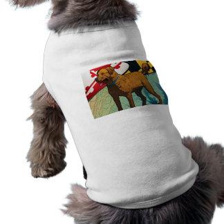 """Chesapeake Bay Retriever of Maryland, """"Chessie"""" Pet T Shirt"""