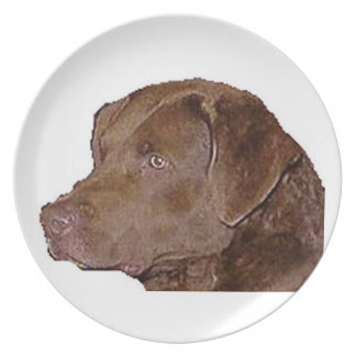 chesapeake bay retriever.png dinner plate