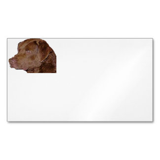 chesapeake bay retriever.png magnetic business card