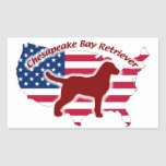 Chesapeake Bay Retriever Rectangular Altavoces