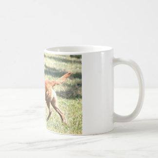 chesapeake bay retriever retrieving.png coffee mug