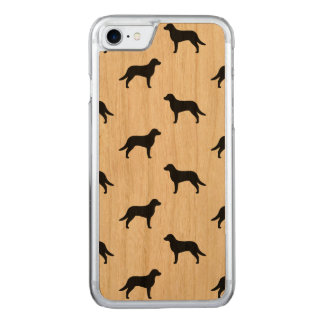 Chesapeake Bay Retriever Silhouettes Pattern Carved iPhone 8/7 Case