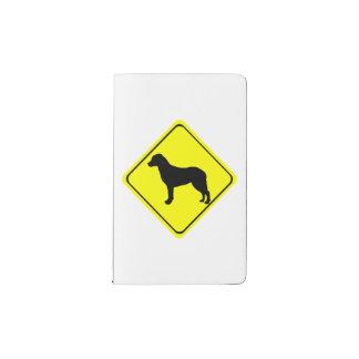 Chesapeake Bay Retriever Warning Sign Love Dogs Pocket Moleskine Notebook
