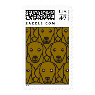 Chesapeake Bay Retrievers Postage